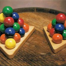 Opps & Opps Again Puzzles. Pyramid of Balls.