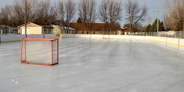 Schumacher Park Grafton Parks & Recreation North Dakota ADA Playground Warming House Ice Rink Soccer