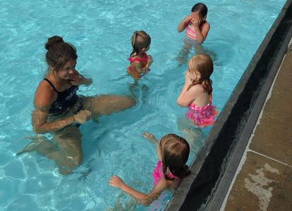 Swimming Lessons Leistikow Park Outdoor Pool Grafton Parks and Recreation North Dakota