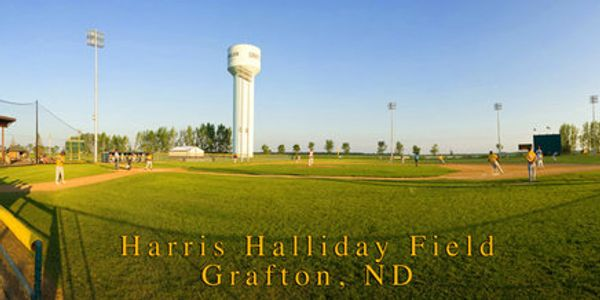 Harris Halliday Field Baseball Fields Grafton North Dakota Grafton Parks and Recreation