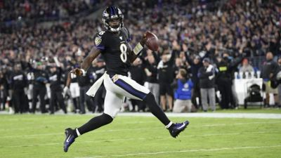 The MVP Of The NFL Lamar Jackson.