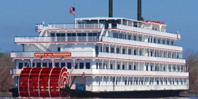 Riverboat Cruise on Mississippi River