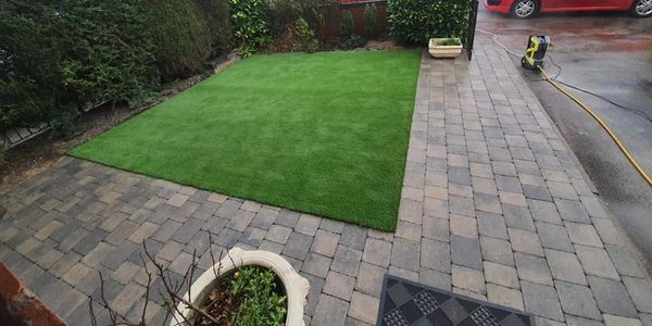 artificial grass play safe school outdoor surfacing realistic pet friendly turf