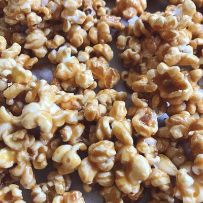 Coffee Caramel Popcorn