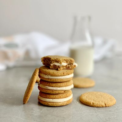 Almond Coffee Cookies made with Sweet & Cute Coffee Syrup