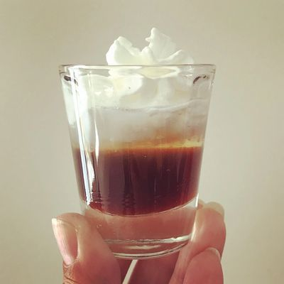 cocktail with Coffee Syrup