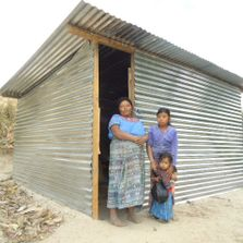 homes constructed for needy families