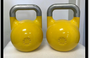 Youth competition kettlebells