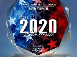 PowerSafe Automation awarded Best of 2020 Safety Equipment Supplier