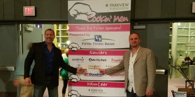 Parkview Foundation - Cookin' Men 2017 to support breast cancer