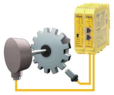 Integrated safety solutions to improve machine safety and operation of older and low tech machines.