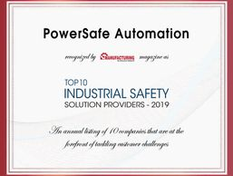 PowerSafe Automation awarded 2019 Safety Solutions Provider