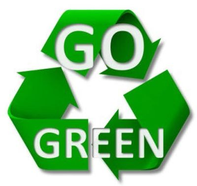 Conscious effort on preserving our environment through reducing, reusing, and recycling.