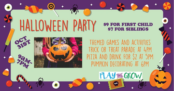 Modesto California Halloween Party event for Children