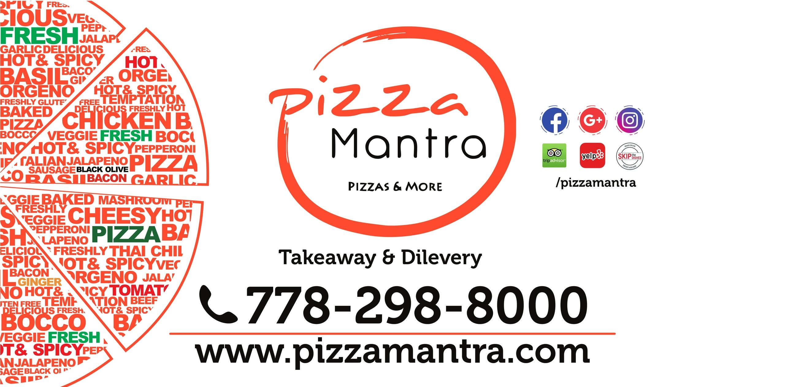Pizza Mantra serving pizza in Langley