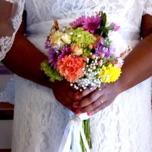 brides bouquet, wedding flowers by Rev Pam, Pams-wedding-flowers, budget-priced-wedding-flowers