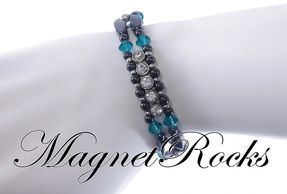 Elegant Blue Zircon Set.