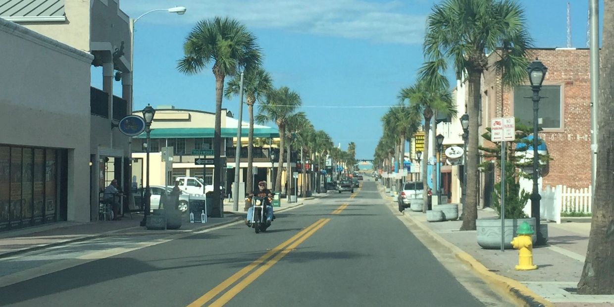Main Street Daytona Beach Florida.