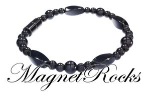 Seductive Jewelry Collection Magnetic Hematite Bracelet.