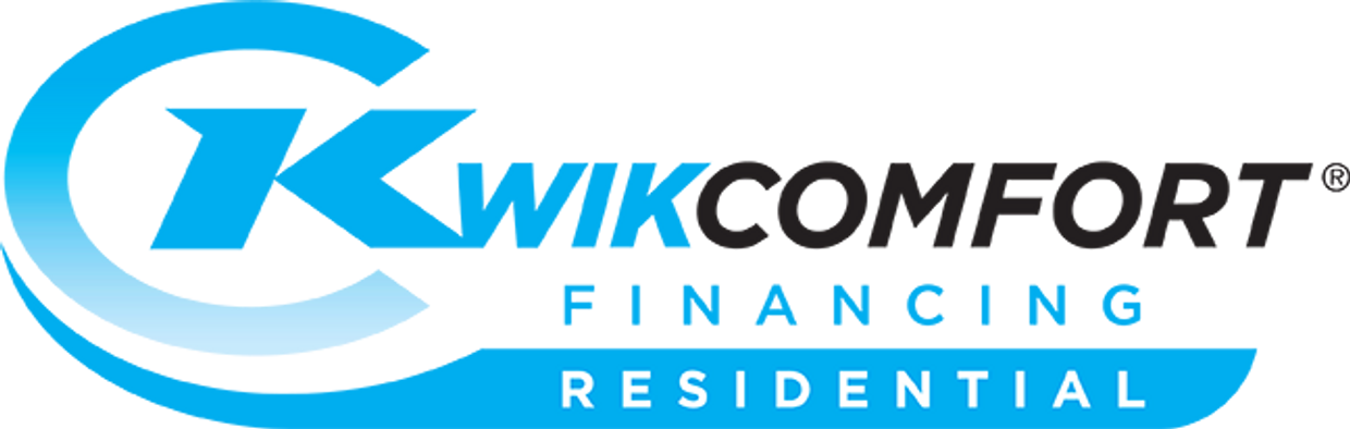 Financing with Kwikcomfort, Syncrony Bank, ColemanAir, Rheem, Trane, York, Coleman, Gibson, Carrier