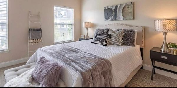 Orlando Florida Home Staging Redesign  Master Bedroom- Finished Touch Designs
