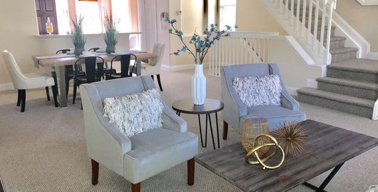 Orlando Florida Home Staging Living Room - Finished Touch Designs