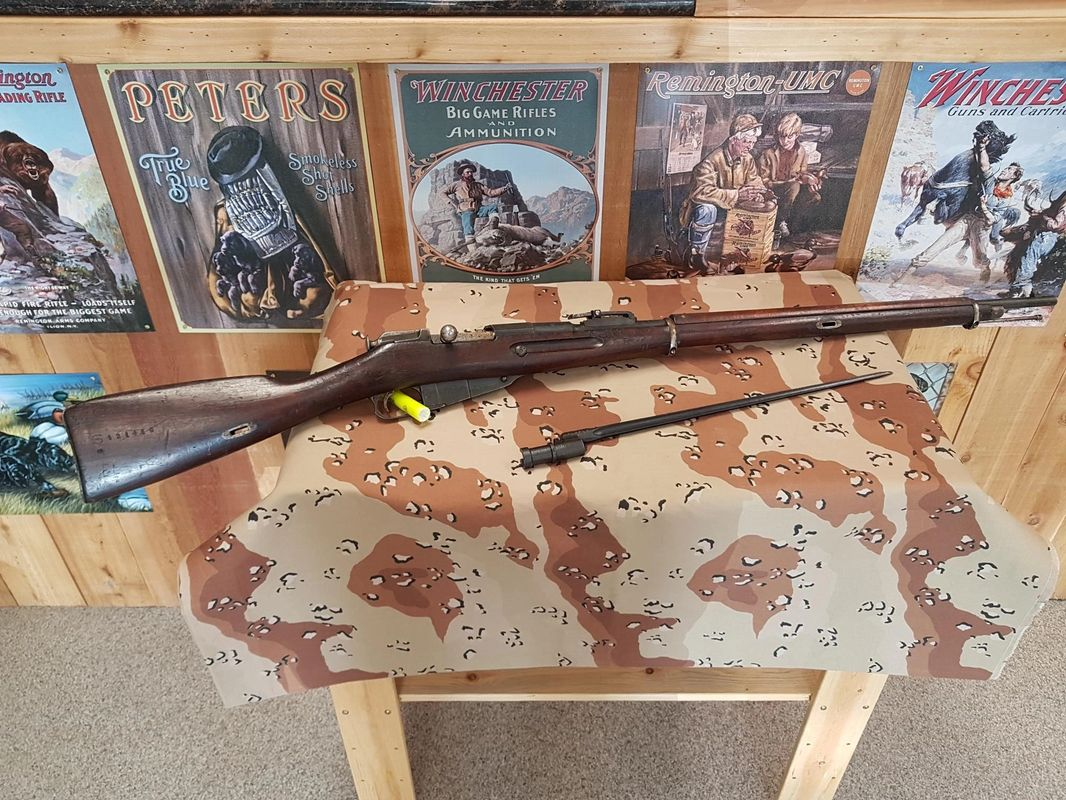 U.S.A MADE REMINGTON ARMOURY 1917 MOSIN NAGANT 7.62X54R  (CONSIGNMENT) $800.00 CASH ONLY SALE
