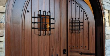 Custom Wood Entry Doors are the most elegant doors on the market. High price and High Class.