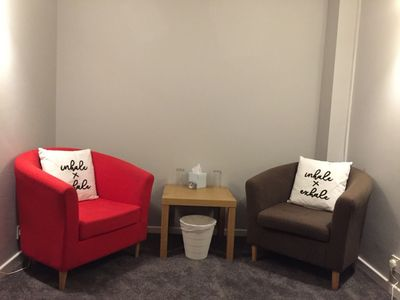 Reflective Therapies Counselling in Winsford seating area