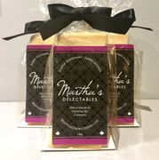 Martha's Delectables Black Tie Shortbread Gift Bag