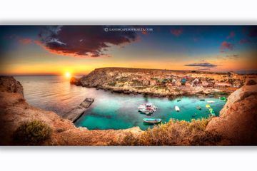 Popeye's village -  Panoramas of malta and gozo by Derren Vella