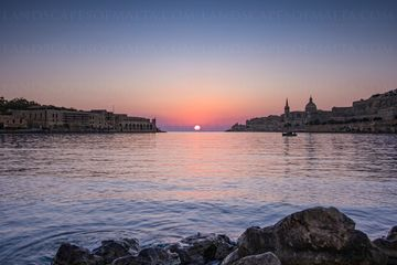 Valletta photography from ta xbiex