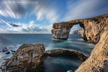 The Azure Window in Gozo - Fine art prints of the Azure Window in Gozo by Derren Vella 2015