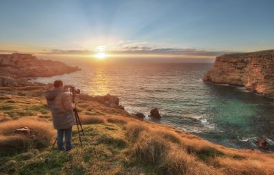 Sunsets in Malta and Gozo