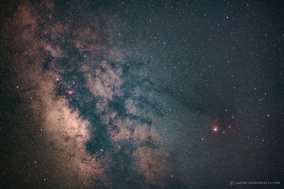 The Milkyway from Migra ferha