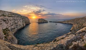 Gozo Photos. Fungus rock san lawrenz. Landscapes of Gozo by Derren Vella. Gozo Photography Fungus