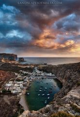 Gozo Photoghy at sunset - canvas prints of gozo