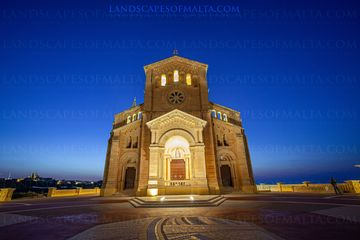 Ta' Pinu Shrine - Landscapes of Gozo Fine art prints by Derren Vella