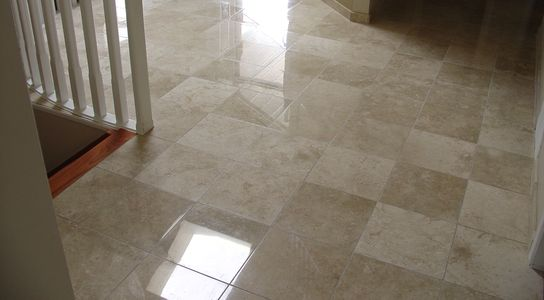 Enviro Clean restores limestone, natural stone. polishing and honing service available in Edmonton.