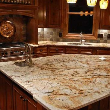 Granite cleaning, granite sealing, caulking replacement. Clean, fresh, and healthy.