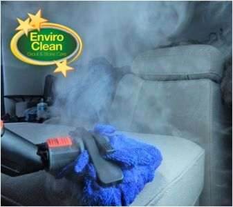 Dry steam to disinfect and sanitize your furniture.
