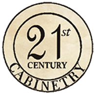 traditional or modern kitchen cabinetry logo