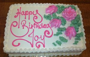 Birthday cake order for pick up San Diego Cakes near me Bakery near me Custom Cake with inscription