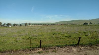 A Civil Engineer arriving at a new project to conduct a septic/OWTS site evaluation in Livermore, CA