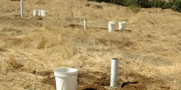 Conducting a percolation test in Monterey County, CA