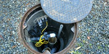Performance evaluation of an existing septic system with a pump.