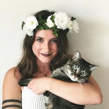 Hannah, Floral Designer and Copywriter at Grow with the Flow in Denton, Nebraska