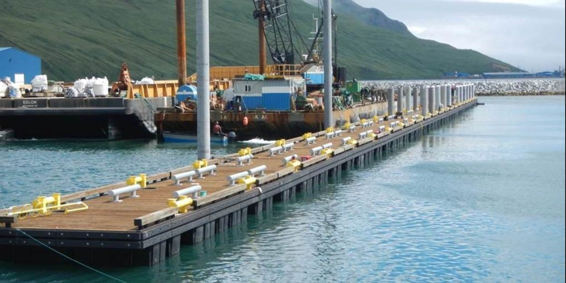 Aleutians East Borough federal/state/local Harbor Float project.