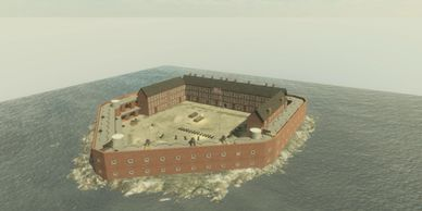 Fort Sumter, NC, 1861