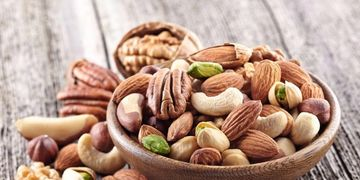 Almonds, cashews, pecans, etc.